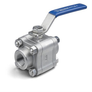 3PC High Pressure Screwed Ball Valve