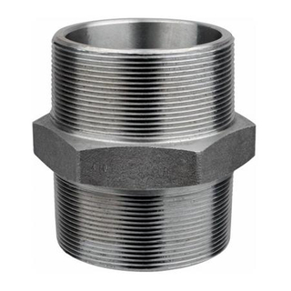 Rust Oil NPT Hex Nipple