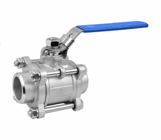 3PC Stainless Steel Butt Welding Ball Valve