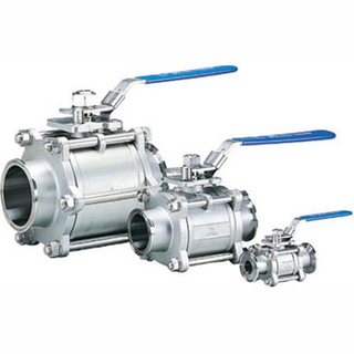 Clamp/Weld/Thread/ Flange Stainless Steel Sanitary Ball Valve with Encapsulated Gasket