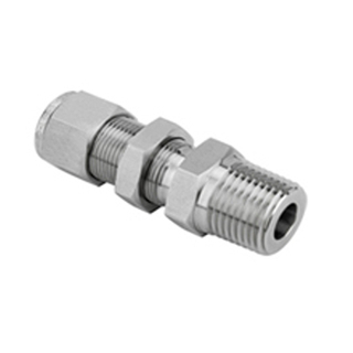 Tube Fitting-Straight Bulkhead Male Connectors As Paker Fittings