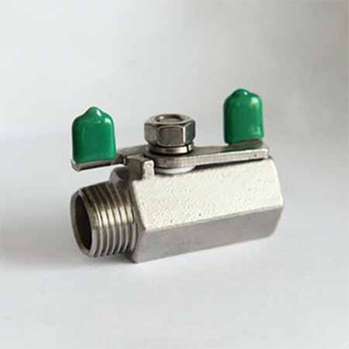 1PC Internal Thread Hexagon Mini Ball Valve
