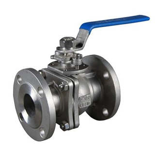 Stianless Steel Sanitary Flanged Ball Valve