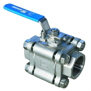 SS304 Sanitary High Pressure Ball Valve